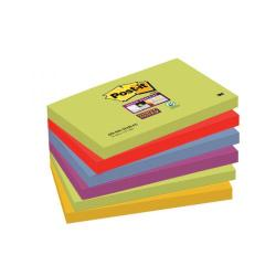 Cheap Stationery Supply of Post-it Super Sticky 76x127mm Marrakesh(Pack of 6)654-6SS-MAR-EU Office Statationery