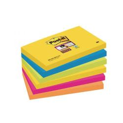 Cheap Stationery Supply of Post-it Super Sticky 76 x 127mm Rio (Pack of 6) 70-0052-5132-0 Office Statationery