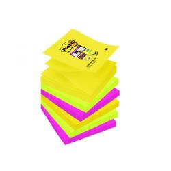 Cheap Stationery Supply of Post-it Super Sticky Z-Notes 76 x 76mm Rio (Pack of 6) R330-6SS-RIO-EU Office Statationery