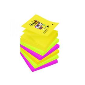 Post-it Super Sticky Z-Notes 76 x 76mm Rio (Pack of 6) R330-6SS-RIO-EU