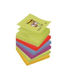 Cheap Stationery Supply of Post-it Super Sticky Z-Notes 76 x 76mm Marrakesh (Pack of 6) R330-6SS-MAR-EU Office Statationery