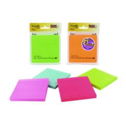 Cheap Stationery Supply of Post-It Assorted Neon/Ultra Super Sticky Notes 4X4 90 Sheets 70005115673 Office Statationery