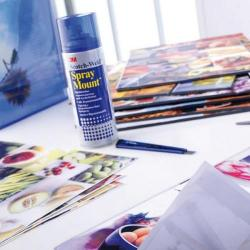 Cheap Stationery Supply of 3M SprayMount Transparent Repositioning Adhesive 400ml SMOUNT Office Statationery