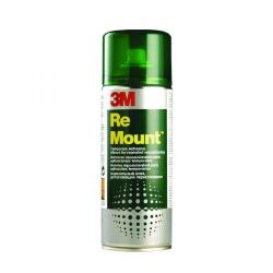 Cheap Stationery Supply of 3M ReMount Creative Spray Repositionable Adhesive 400ml REMOUNT Office Statationery