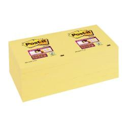 Cheap Stationery Supply of Post-it Super Sticky 76x76mm Canary Yellow (Pack of 12) 654-12SSCY Office Statationery