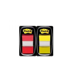 Cheap Stationery Supply of Post-it Index Tabs Red and Yellow (Pack of 100) 680-RY2 Office Statationery