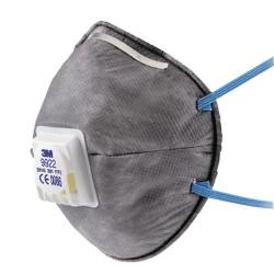 Cheap Stationery Supply of 3M Cup Shaped Valved Respirator 9922 XA004837846 Office Statationery