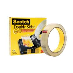 Cheap Stationery Supply of Scotch Durable Double Sided Tape 19mmx33m Transparent 6651933 Office Statationery