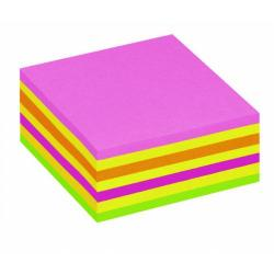 Cheap Stationery Supply of Post It Neon Pink Rainbow Cube Hanging Flow Wrap 325 Sheet Cube 2014LP Office Statationery