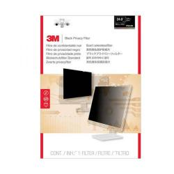 Cheap Stationery Supply of 3M Black Privacy Filter For Desktops 24in Widescreen 16:10 PF24.0W Office Statationery