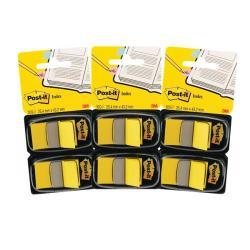 Cheap Stationery Supply of Post-it Index Dispenser Yellow (Pack of 2x50) 3For2 3M810106 Office Statationery