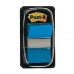 Cheap Stationery Supply of Post It Sticky 1 Inch Index Flags Blue + 1 FREE 3M811164 Office Statationery