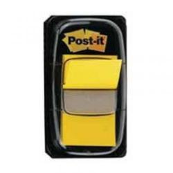 Cheap Stationery Supply of Post It Sticky 1 Inch Index Flags Yellow + 1 FREE 3M811165 Office Statationery