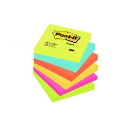Cheap Stationery Supply of Post-it Notes 76 x 76mm Energy Colours (Pack of 6) 654TF Office Statationery