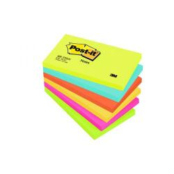 Cheap Stationery Supply of Post-it Notes 76 x 127mm Energy Colours (Pack of 6) 655TF Office Statationery