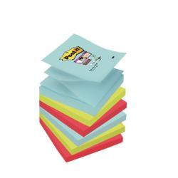 Cheap Stationery Supply of Post-it Super Sticky Z-Notes 76 x 76mm Miami (Pack of 6) R330-6SS-MIA Office Statationery