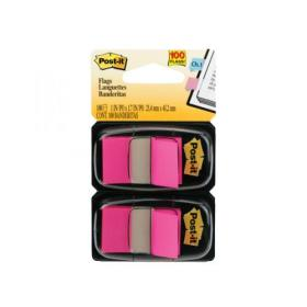 Post-it Index Tabs Dispenser with Pink Tabs (Pack of 2) 680-BP2EU