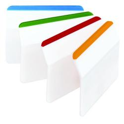 Cheap Stationery Supply of Post-it Index Flat Filing Tabs Assorted (Pack of 24) 686-F1 Office Statationery
