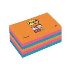 Cheap Stationery Supply of Post-it Notes Super Sticky 76x127mm Bangkok (Pack of 6) 70-0051-9806-7 Office Statationery