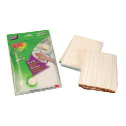 Cheap Stationery Supply of Scotch-Brite White Microfibre Kitchen Cloths Pack of 2 GN030122313 Office Statationery