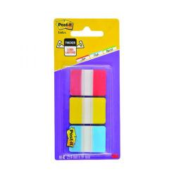 Cheap Stationery Supply of Post-it Strong Index Full Colour Red/Yellow/Blue (Pack of 66) 686-RYB Office Statationery