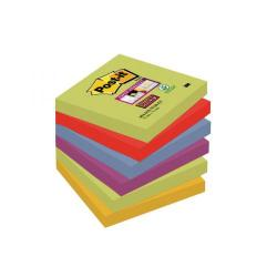 Cheap Stationery Supply of Post-it Super Sticky 76x76mm Marrakesh (Pack of 6) 654-6SS-MAR-EU Office Statationery
