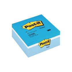 Cheap Stationery Supply of Post-it Note Colour Cube 76 x 76mm Blue 400 Sheets 2040B Office Statationery