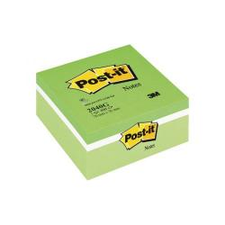 Cheap Stationery Supply of Post-it Notes Colour Cube Green 76 x 76mm 2040G Office Statationery