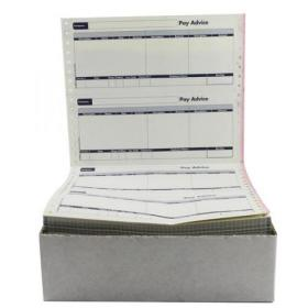 Sage Compatible Pay Advice with NCR File Copy 2 Part Ref SE32 Pack of 1000