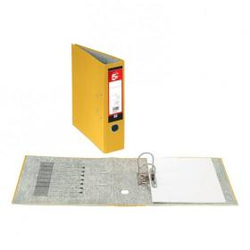 5 Star Office Lever Arch File 70mm A4 Yellow Pack of 10