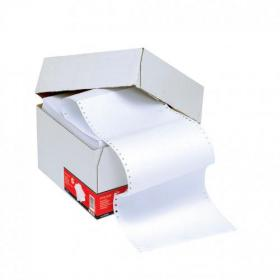 5 Star Office Listing Paper 1-Part Perforated 70gsm 11inchx241mm Plain 2000 Sheets