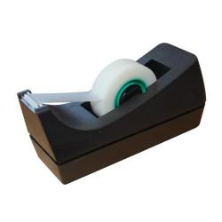 Cheap Stationery Supply of 5 Star Office Tape Dispenser Desktop Roll Capacity 25mm Width 33m Length Black Office Statationery