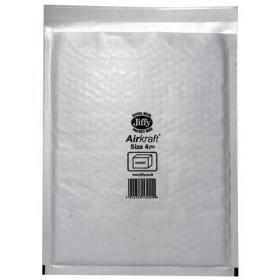 Jiffy Airkraft Bag Bubble-lined Peel and Seal Size 4 240x320mm White Ref JL-AMP-4-10 Pack of 10