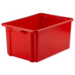Cheap Stationery Supply of Strata Storemaster Jumbo Crate External W560xD385xH280mm 48.5 Litres Red HW48 Office Statationery