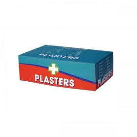 Wallace Cameron Fabric Plasters Assorted 3 Sizes Oblong Ref 1210024 Pack of 150