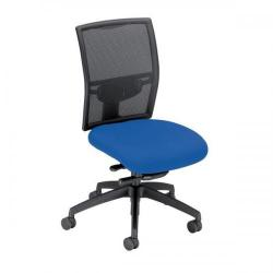 Cheap Stationery Supply of Adroit Zeste Synchronous Mesh High Back Chair (Ocean Blue Upholstery with Black Metal Frame) SP433295 Office Statationery