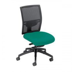Cheap Stationery Supply of Adroit Zeste Synchronous Mesh High Back Chair (Jade Upholstery with Black Metal Frame) SP433328 Office Statationery