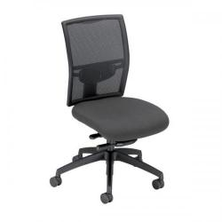 Cheap Stationery Supply of Adroit Zeste Synchronous Mesh High Back Chair (Shadow Upholstery with Black Metal Frame) SP433335 Office Statationery