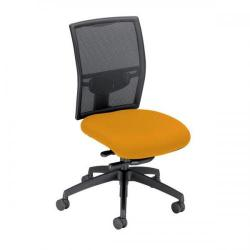 Cheap Stationery Supply of Adroit Zeste Synchronous Mesh High Back Chair (Sunset Upholstery with Black Metal Frame) SP433343 Office Statationery