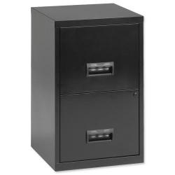 Cheap Stationery Supply of Filing Cabinet Steel 2 Drawer A4 400x400x660mm 95010 Office Statationery