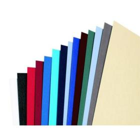 GBC Antelope Binding Covers Leather-look Plain A4 White Ref CE040070 Pack of 100