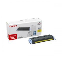 Cheap Stationery Supply of Canon 707 (Yellow) Toner Cartridge (Yield 2,000 Pages) 9421A004 Office Statationery