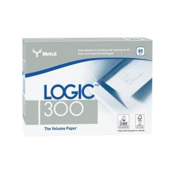 Cheap Stationery Supply of Logic (A4) 80gsm 300 Copier Paper Multifunctional Ream-Wrapped (5 x 500 Sheets) BP-127761H Office Statationery