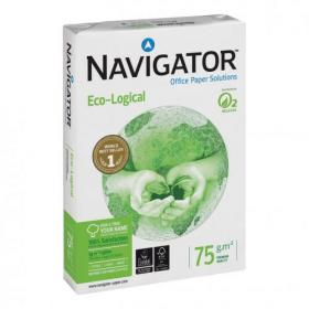 Navigator Eco-logical Paper FSC Ream-Wrapped 75gsm A4 White Ref NEC0750012 5 x 500 Sheets