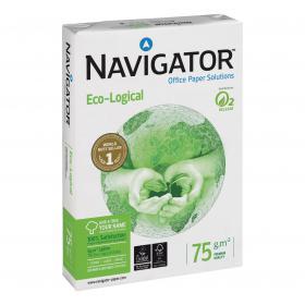 Navigator Eco-logical Paper FSC 75gsm A4 Wht Ref NEC0750012 5 x 500 Shts