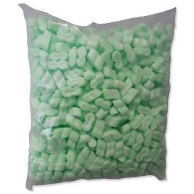 Loosefill S-shaped 100% Recycled Biodegradable Polystyrene 0.42m White