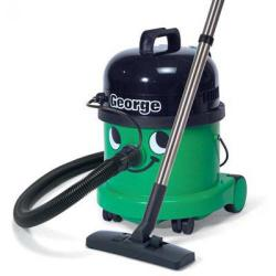 Cheap Stationery Supply of Numatic George Vacuum Cleaner All-in-One 1060W 15L Dry 9L Wet 11kg W360xD370xH510mm Green 825714 Office Statationery