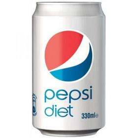 Pepsi Diet Soft Drink Can 330ml Ref 202428 Pack of 24