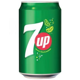 7UP Original Lemon and Lime Soft Drink Can 330ml Ref 203388 Pack of 24