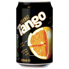 Tango Orange Soft Drink Can 330ml Ref 203353 Pack of 24